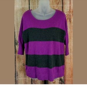 Rock Republic Purple Sweater Womens Size XS